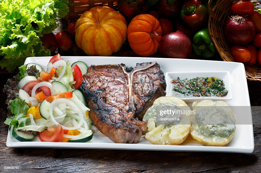 t-bone : Stock Photo