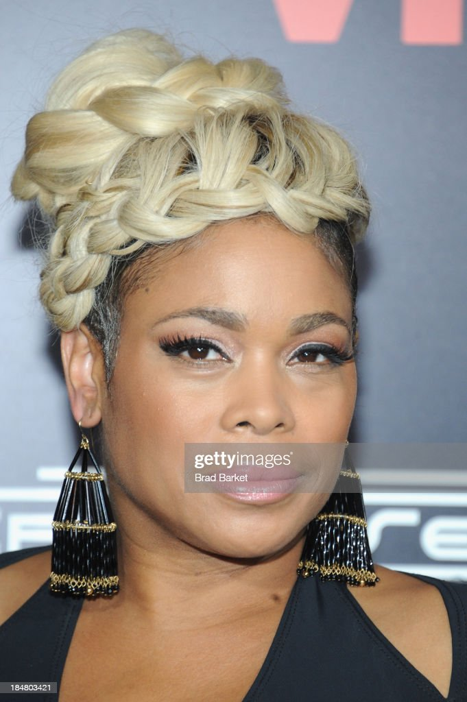 T-Boz attends the CrazySexyCool Premiere Event at AMC Loews Lincoln Square 13 theater on October 15, 2013 in New York City.