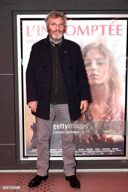 Tcheky Karyo is seen during the 'Indomptee' movie Paris Premiere at MK2 Odeon on February 13 2017 in Paris France