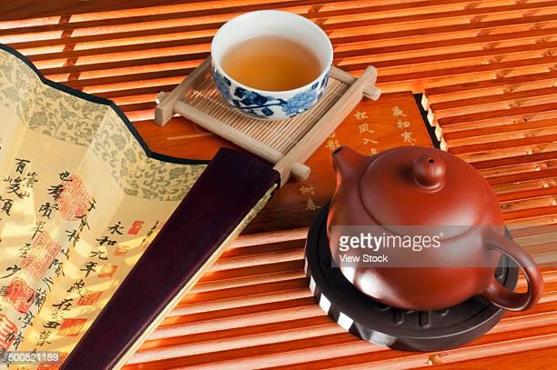 Tea and fan