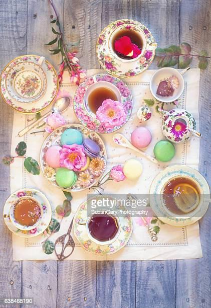 Tea and Macaron Party
