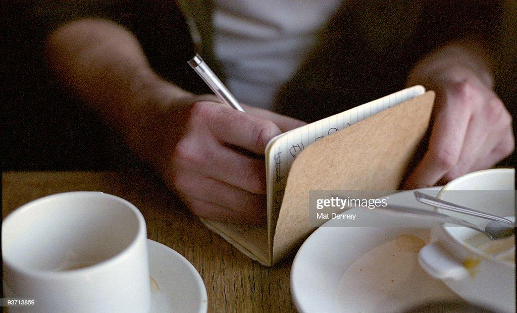 Tea and Poetry : Stock Photo