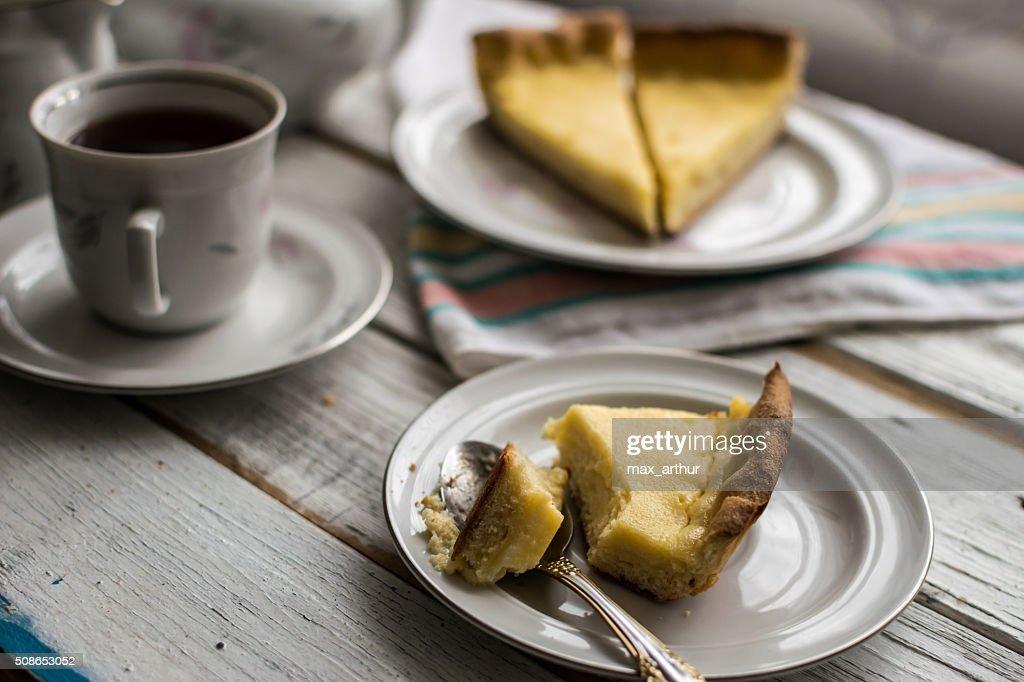 tea cakes pie cheesecake : Stock Photo
