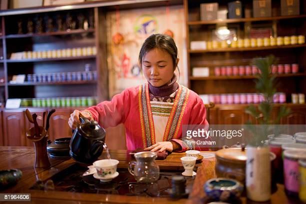 Tea Ceremony, Guilin, China