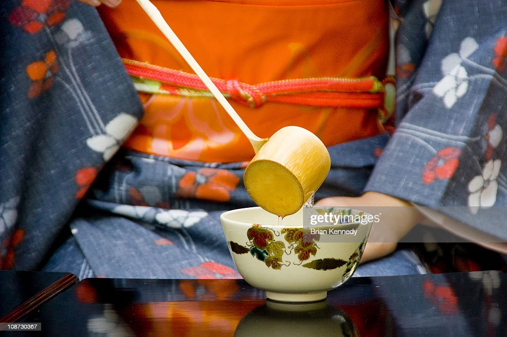 Tea Ceremony Water