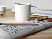 'Tea, cookies and crossword on board'