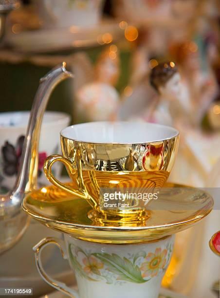 Tea cup displayed