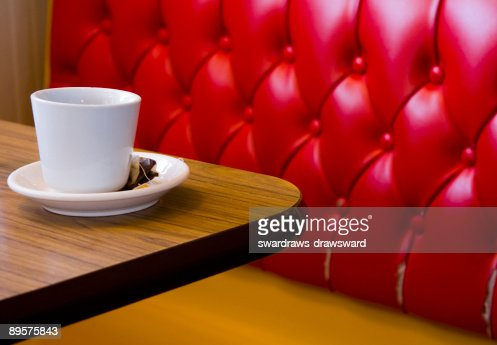 Tea cup on the table : Stock Photo