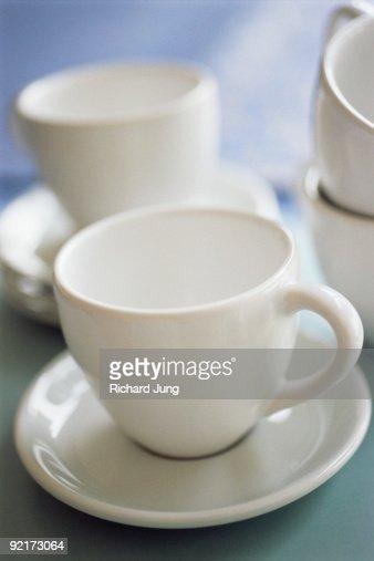 Tea cups : Stockfoto
