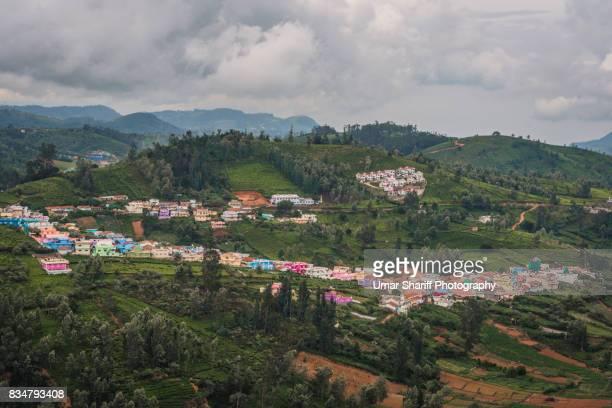 Tea Estates in the Nilgiri Ranges
