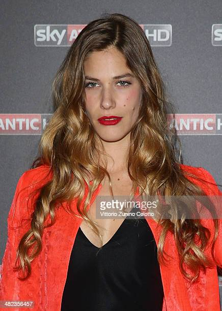 Tea Falco attends 'Game Of Thrones' Premiere on April 3 2014 in Milan Italy