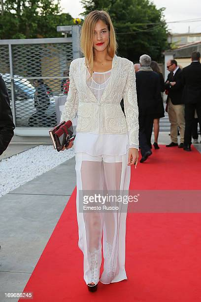 Tea Falco attends the '2013 Nastri d'Argento' award nominations at Maxxi Museum on May 30 2013 in Rome Italy