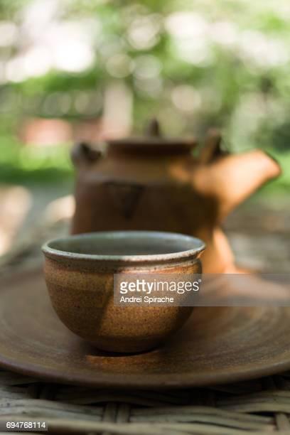 Tea in a teapot