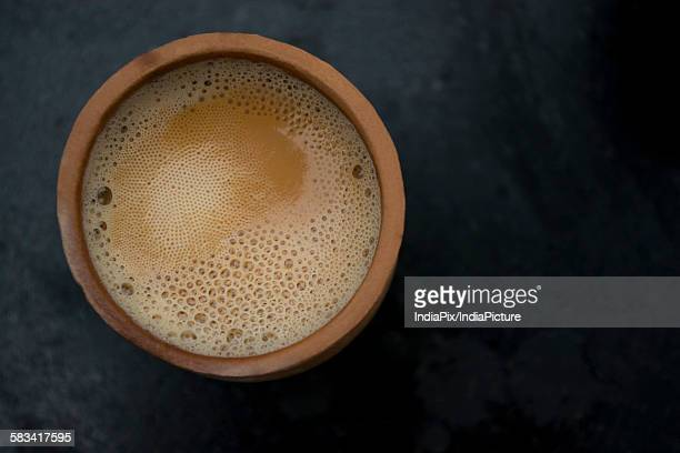 Tea in Clay Pot