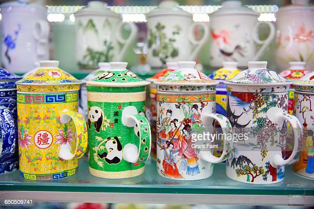 Tea jars.