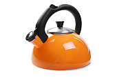 Tea Kettle with Clipping Path