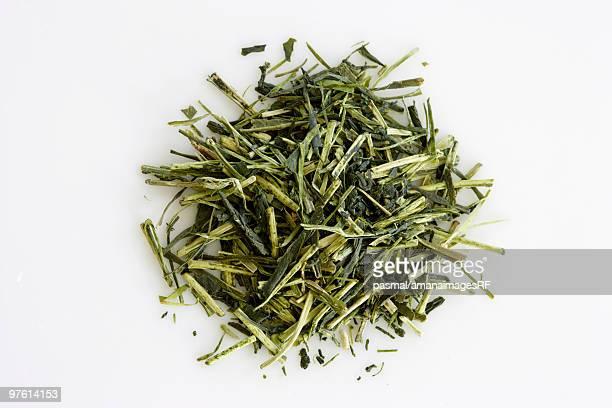 Tea leaves from Shizuoka, Japan