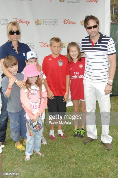 Tea Leoni and David Duchovny attend 21st ANNUAL A TIME FOR HEROES CELEBRITY PICNIC SPONSORED BY DISNEY TO BENEFIT THE ELIZABETH GLASER PEDIATRIC AIDS...