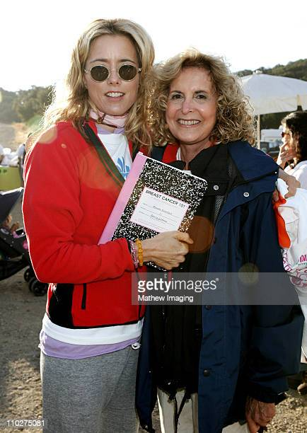 Tea Leoni and guest during 10th Annual TakeaHike Celebrity Hike Presented by Expedition Inspiration at Paramount Ranch in Agoura Hills California...