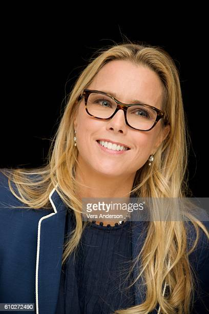 Tea Leoni at the 'Madam Secretary' Press Conference at the Essex House on September 23 2016 in New York City