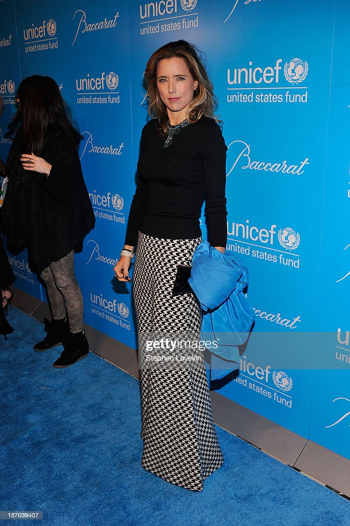 Tea Leoni attends the Unicef SnowFlake Ball at Cipriani 42nd Street on November 27, 2012 in New York City.