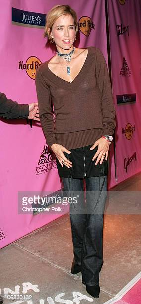 Tea Leoni auction chair during The Expedition Inspiration Fund for Breast Cancer Reasearch Presents 'Rock the Cure' in Hollywood CA United States