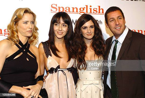 Tea Leoni Cecilia Suarez Paz Vega and Adam Sandler