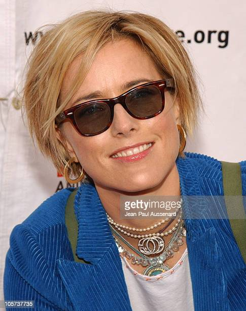 Tea Leoni during Much Love Animal Rescue 'Shop 'Til You Drool' Benefit at 5th and Sunset Studios Los Angeles in Los Angeles California United States