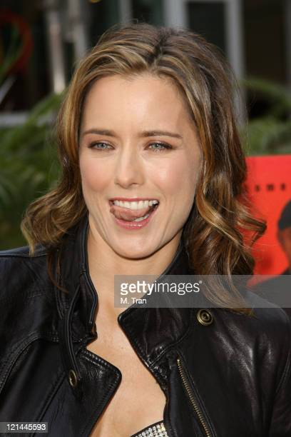 Tea Leoni during 'You Kill Me' Los Angeles Premiere Arrivals at ArcLight Hollywood in Hollywood California United States