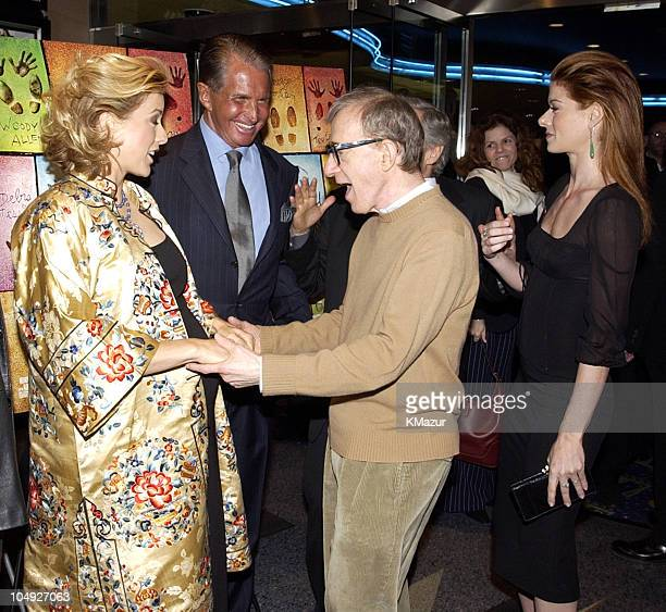 Tea Leoni George Hamilton Woody Allen and Debra Messing
