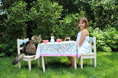 Tea Party with a Cat