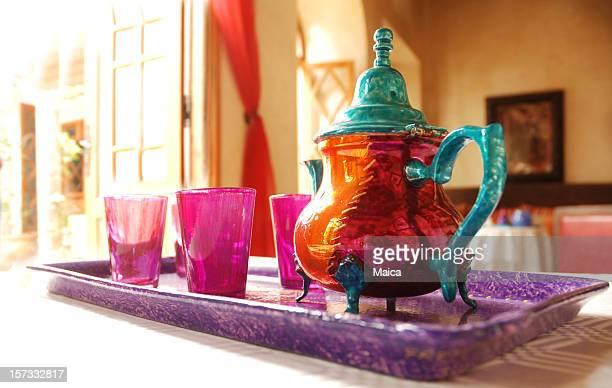 Teekanne, Marokkos
