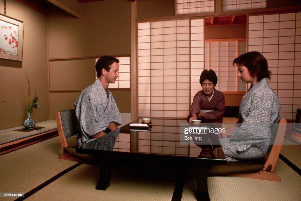 Tea Room in Japanese Inn