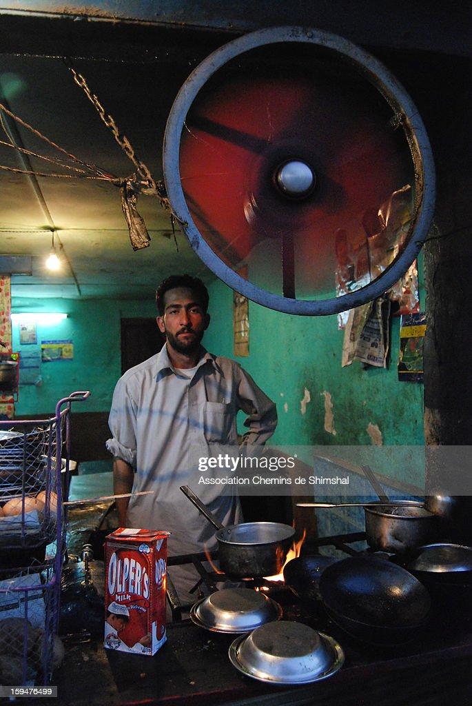 CONTENT] Tea shop Gilgit North Pakistan