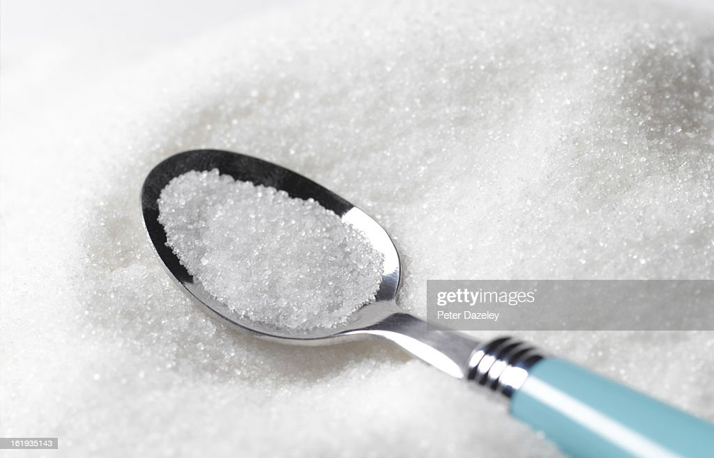 Tea spoon of sugar