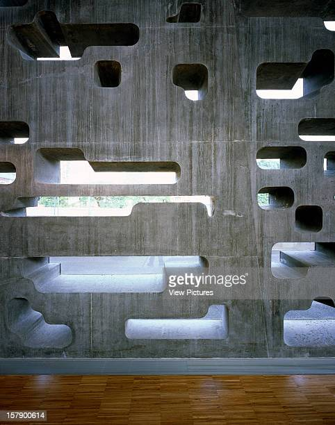 Tea Tenerife Espacio De Las ArtesSpain Architect Santa Cruz De Tenerife Tea Tenerife Espacio De Las Artes Interior Detail Of Concrete Wall