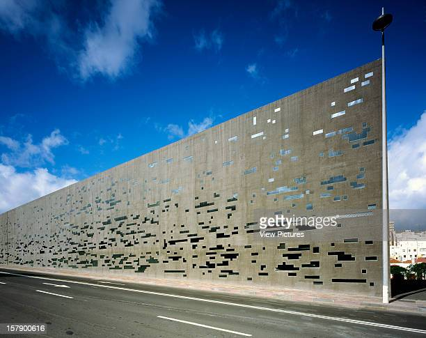 Tea Tenerife Espacio De Las ArtesSpain Architect Santa Cruz De Tenerife Tea Tenerife Espacio De Las Artes General Exterior Panoramic View Of Concrete...