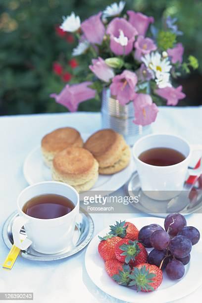 Tea Time Image, High Angle View