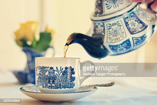 Tea Time : Stock Photo