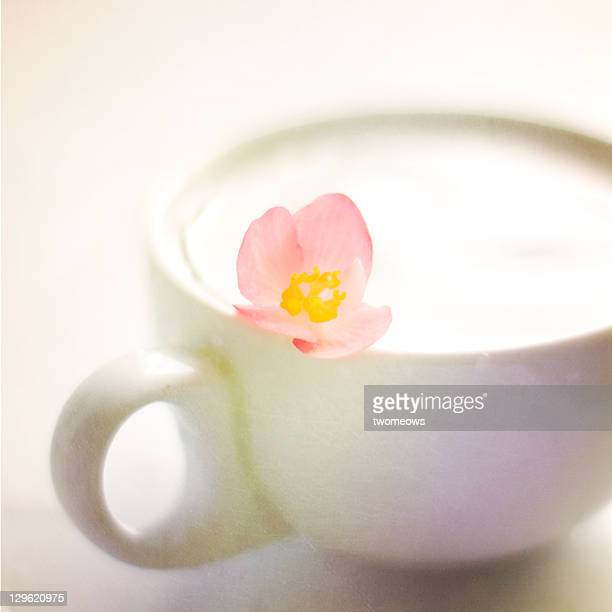 Tea time with petals