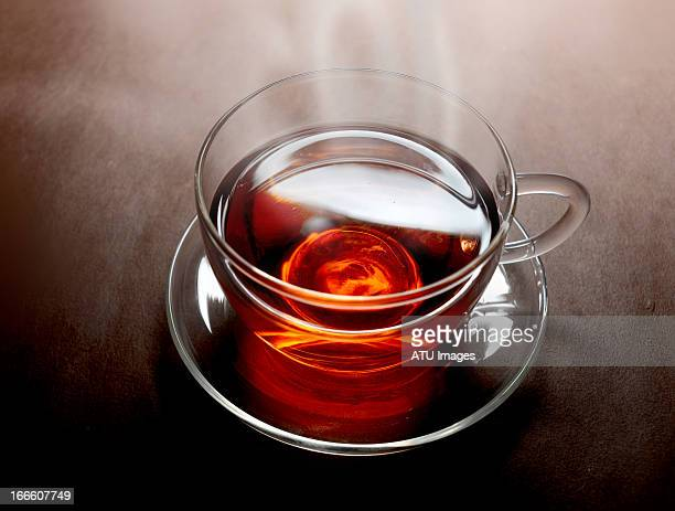 Tea with steam