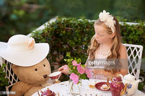 Tea with teddy