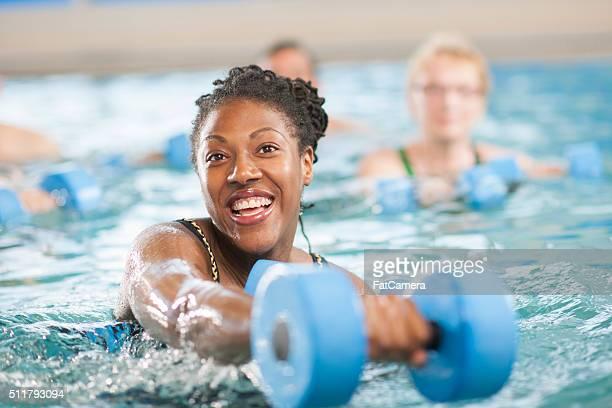Teacher a Water Aerobics Class