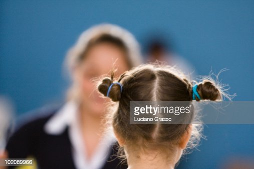 Teacher and pupil  : Stock Photo