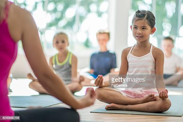 Teacher Leading a Meditation