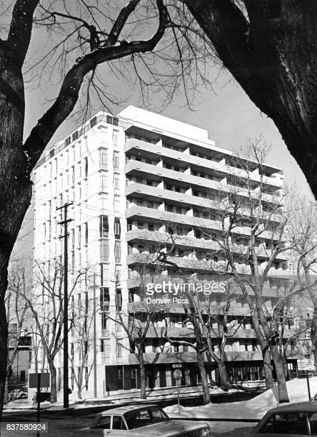 Teachers Retire in Style This is the 12story DESCI Apartments at 1901 E 13th Ave dedicated Sunday The building is a cooperative venture of the Denver...