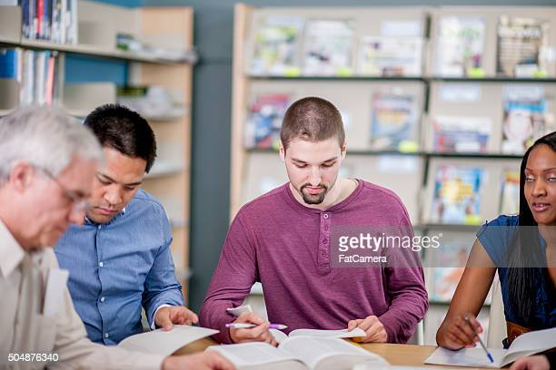 Teachers Working on Lesson Plans