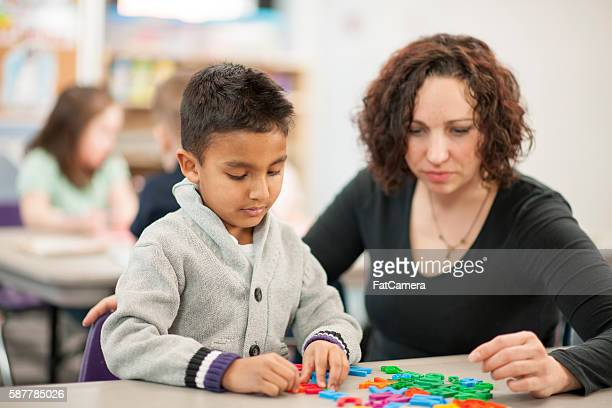 Teaching Children How to Spell