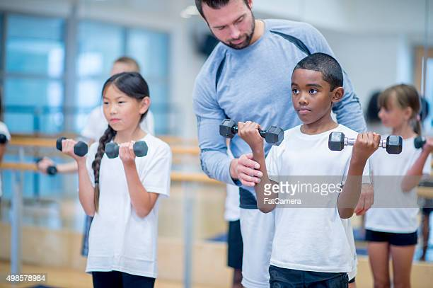 Teaching Students How to use Weights