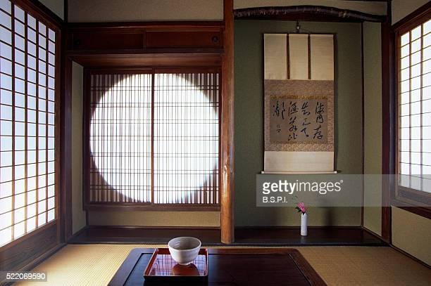 Teahouse at Chido Museum in Japan